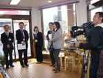 OBS正月特番テレビ取材